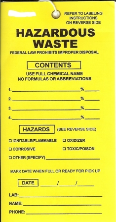 Hazardous Tag